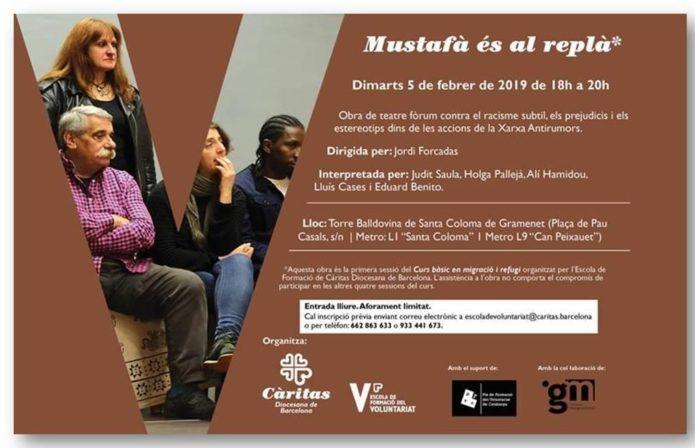 Teatre fòrum contra el racisme - Càritas
