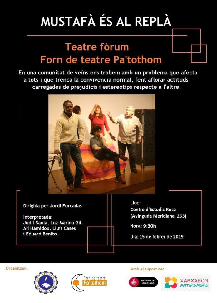 Teatre de l'Oprimit contra el racisme
