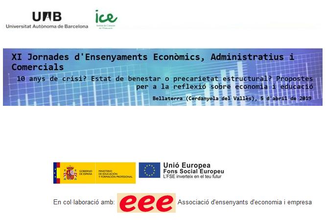 XI Jornades d'Ensenyaments Econòmics, Administratius i Comercials