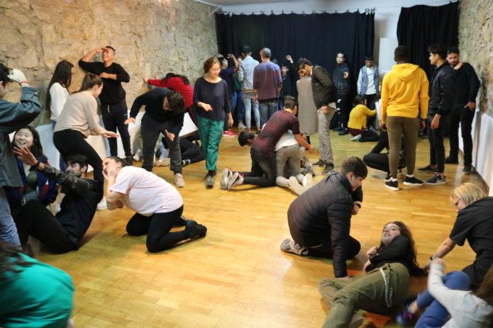 Teatre amb joves de Barcelona