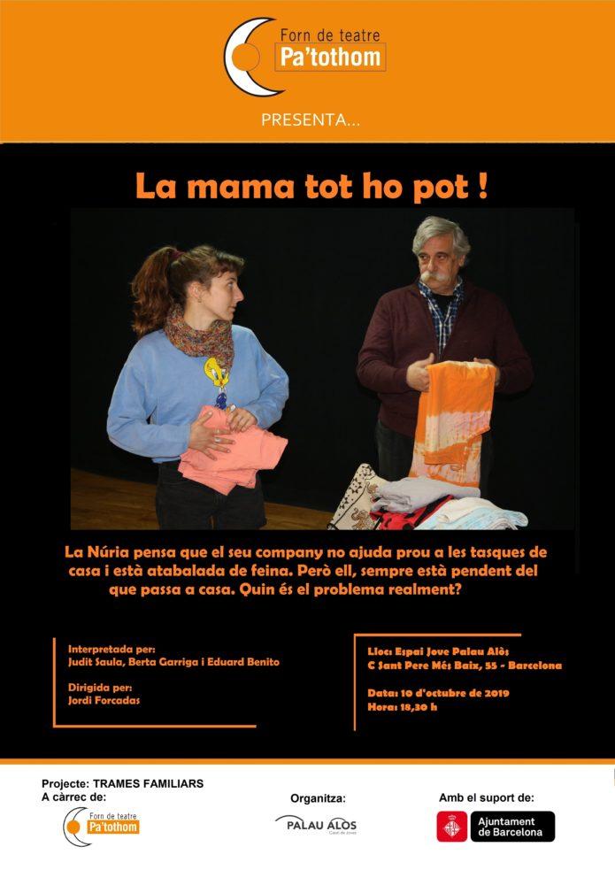 Teatre fòrum feminisme, Forn de teatre Pa'tothom
