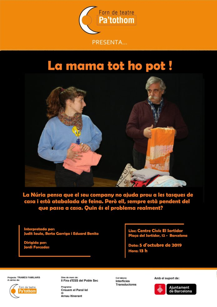 Teatre fòrum, feminisme, Forn de teatre Pa'tothom