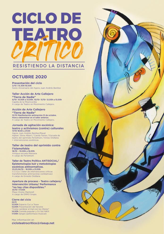 Teatro político y militante. Teatro crítico. Barcelona