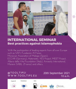 TheTIP International Seminar – Best Practices against Islamophobia