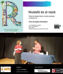 «Mustafà está en el rellano» en el INS Miquel Tarradell – Raval(s)
